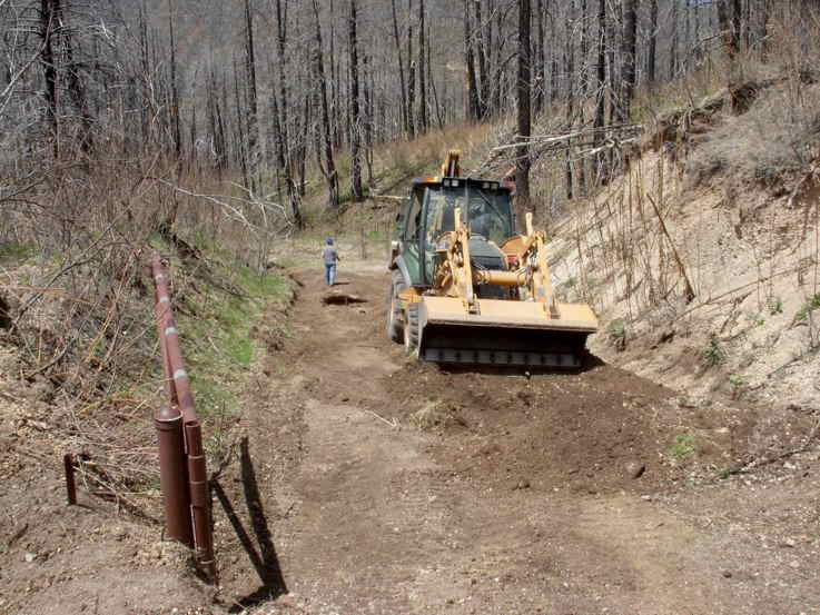 5-06-16 Roadwork on Old Driveway 9