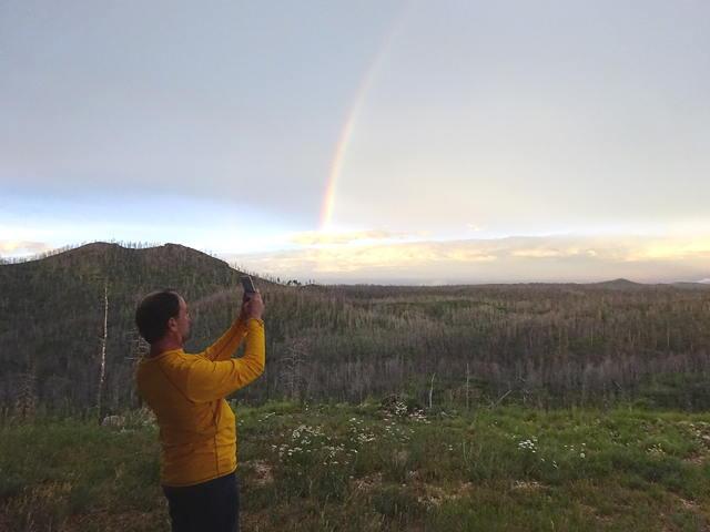 Torben and Rainbow